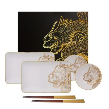 Set Sushi Dragon Gold TOKIO DESIGN