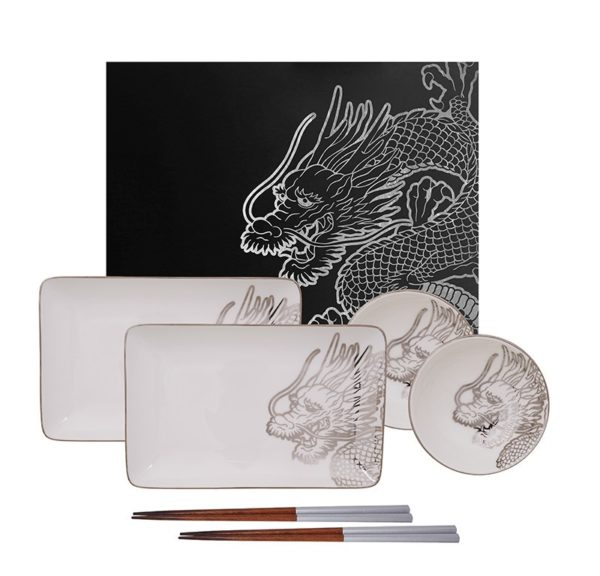 Set Sushi Dragon Platinum TOKIO DESIGN