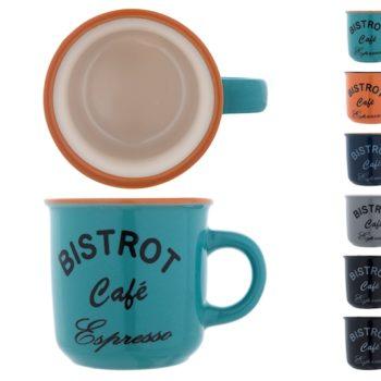 Confezione 6 tazzine caffè Bistrot 8063300 HOME