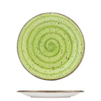 Piatto Frutta GIOTTO verde 3476203 H&H