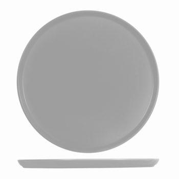 Piatto pizza grigio cm.33 6637933 H&H